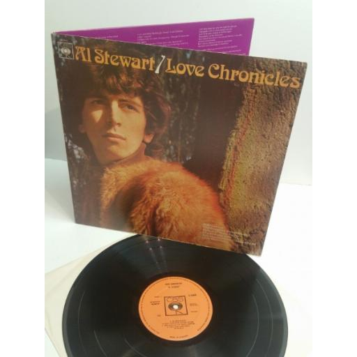 AL STEWART love chronicles CBS 63460
