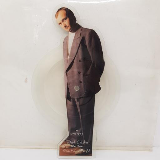 PHIL COLLINS, one more night, B side I like the way, VSS 755, 7 inch single, picture disc, limited edition