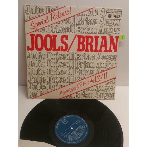 JULIE DRISCOLL BRIAN AUGER Jools /Brian MFP MONO 1265