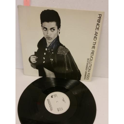 PRINCE AND THE REVOLUTION kiss (extended version), 12 inch single, W8751T