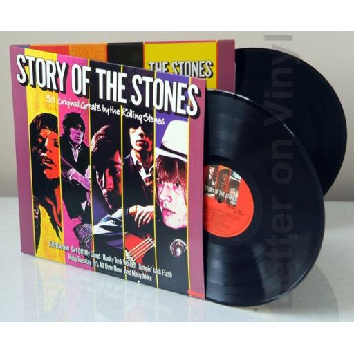 THE ROLLING STONES, story of the Stones, 30 original greats by the Rolling StoNES.