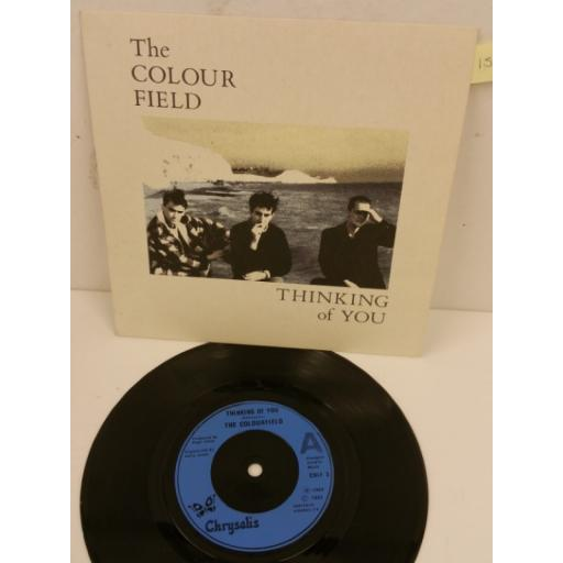 THE COLOUR FIELD thinking of you, 7 inch single, COLF 3