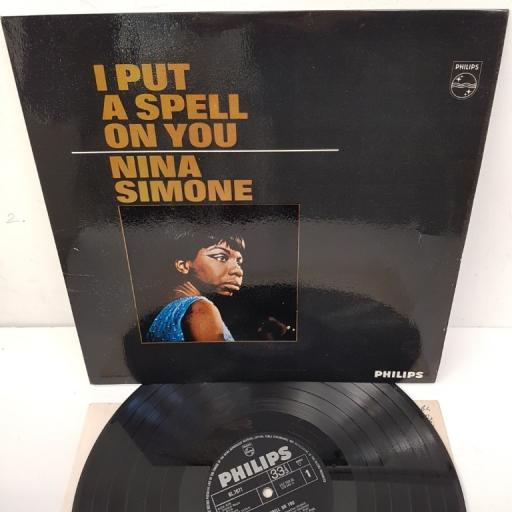 NINA SIMONE, I put a spell on you, BL 7671, 12 inch LP, mono