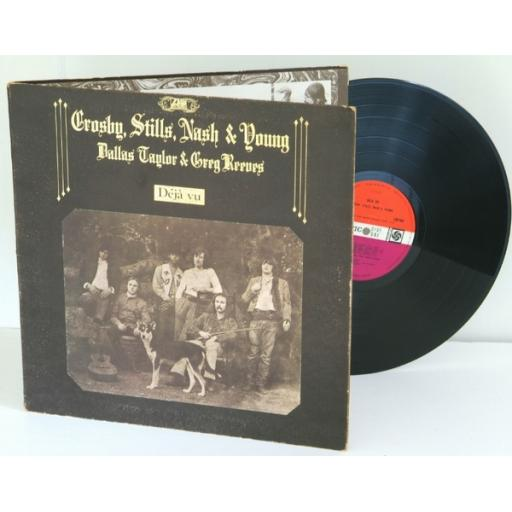 OUT OF STOCK CROSBY STILLS NASH AND YOUNG - D?J? VU - LP VINYL [Vinyl]