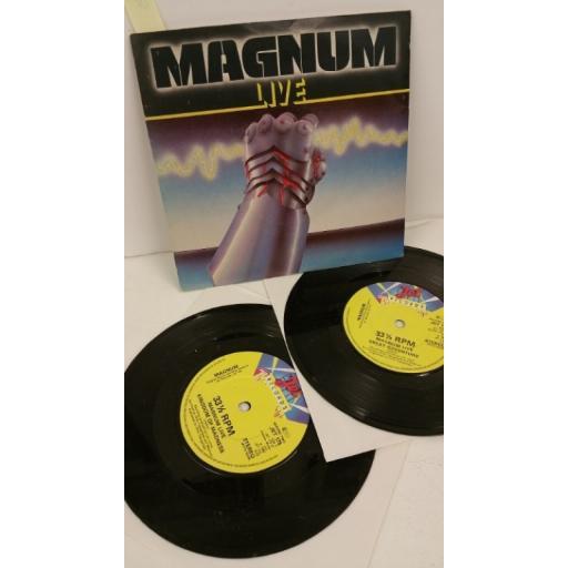 MAGNUM magnum live, 2 x 7 inch single, JET 175