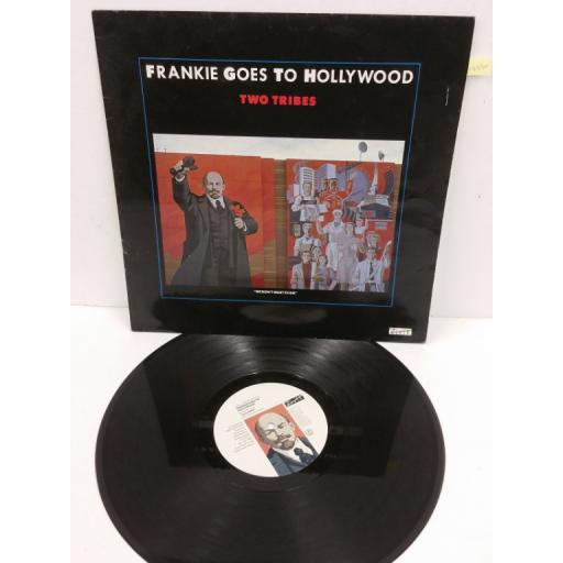 FRANKIE GOES TO HOLLYWOOD two tribes, 12 inch single, 12 ZTAS 3. Sku. 12978