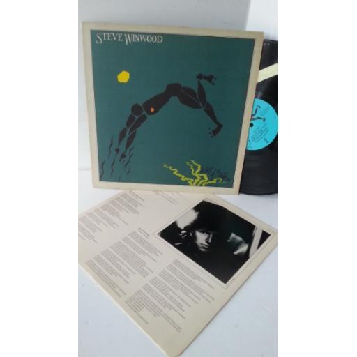 STEVE WINWOOD arc of a diver, ILPS 9576