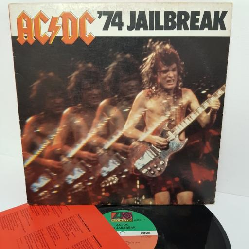 "AC/DC, '74 jailbreak, 80178-1-Y, 12"" LP, compilation"