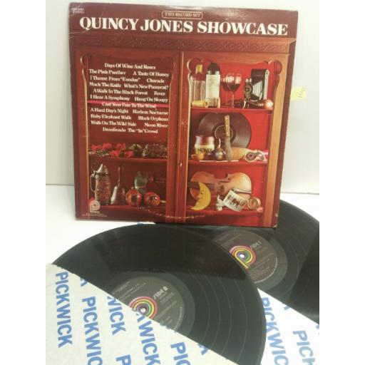 QUINCY JONES showcase TWO RECORD SET PTP2091