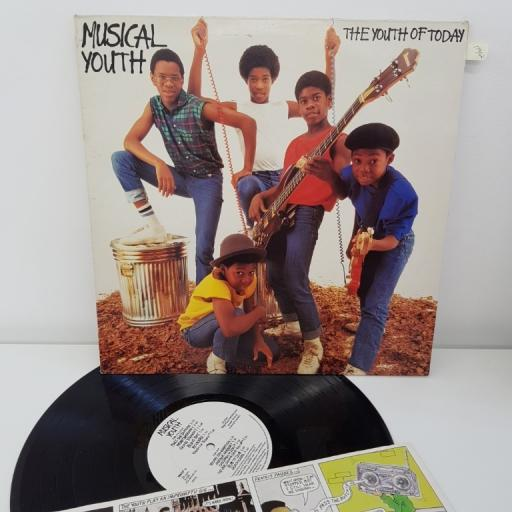 MUSICAL YOUTH THE YOUTH OF TODAY MAPS 10943