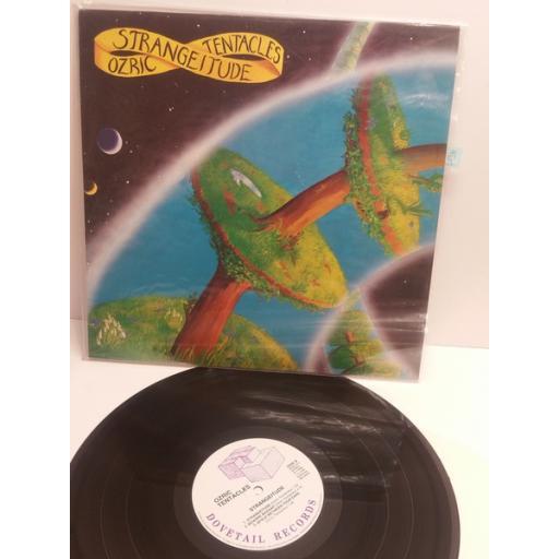 OZRIC TENACLES strangeitude DOVE LP3