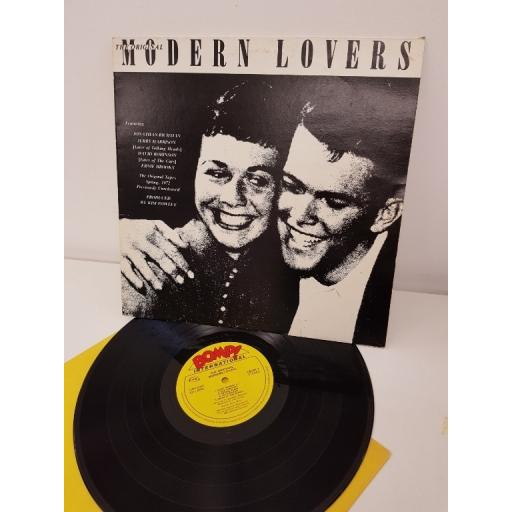 "Jonathan Richman, Jerry Harrison, David Robinson, the original modern lovers, LBOM 1, 12"" LP"