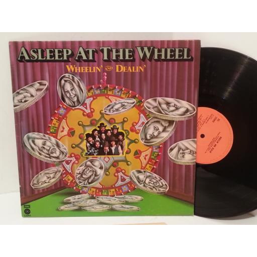 ASLEEP AT THE WHEEL wheelin' and dealin', E-ST 11546