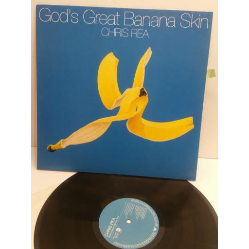 CHRIS REA God's great banana skin WX496