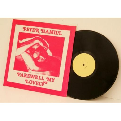 PETER HAMMILL, farewell my lovely.