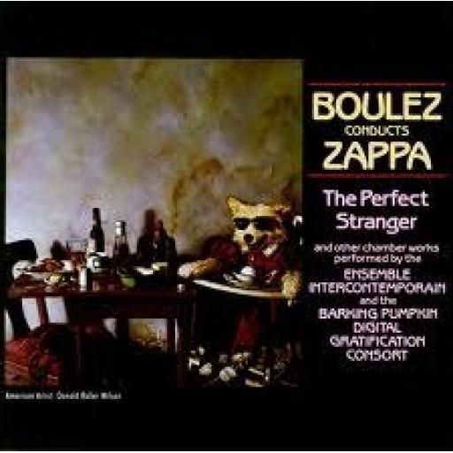 FRANK ZAPPA boulez conducts zappa