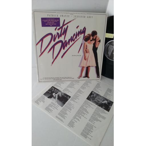 PATRICK SWAYZE, BILL MEDLEY, JENNIFER WARNES, ERIC CARMEN, THE BLOW MONKEYS dirty dancing (selections from the original soundtrack from the vestron motion picture), BL86408