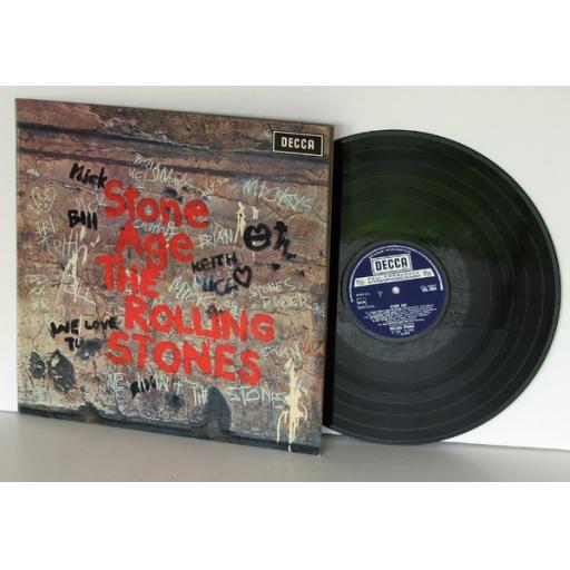 THE ROLLING STONES, stone age Stereo. First UK pressing 1971. Decca [Vinyl]