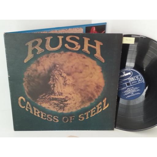 RUSH caress of steel, gatefold, 9100 018