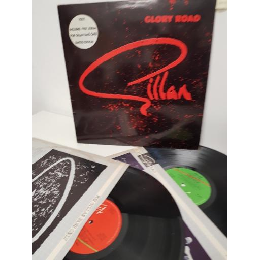 "GILLAN, glory road / for gillan fans only, V 2171, 12"" LP + 12"" LP, limited edition"