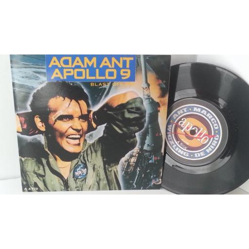 ADAM ANT apollo 9 (blast off mix), 7 inch single, A 4719