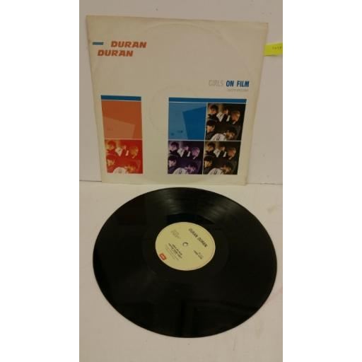 DURAN DURAN girls on film (night version), 12 inch single, 12EMI 5206