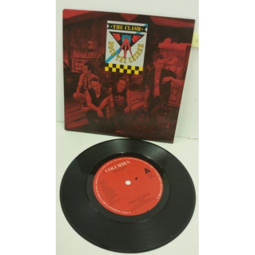 THE CLASH rock the casbah, 7 inch single, 656814 7