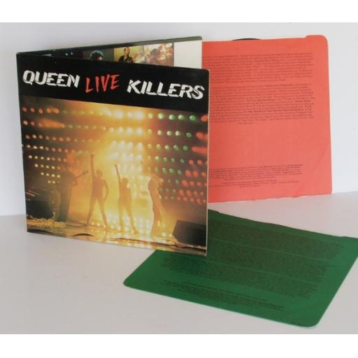 QUEEN Live killers DOUBLE ALBUM SET. UK pressing 1979 EMI [Original recording]