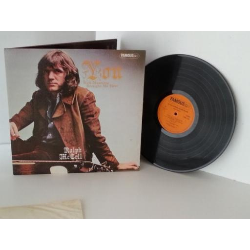 RALPH McTELL you, well-meaning, brought me here, vinyl LP, gatefold