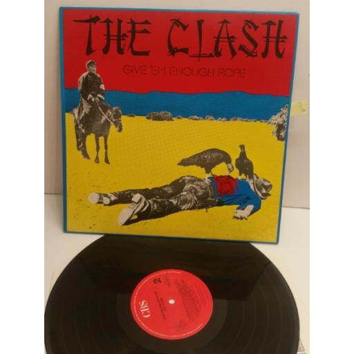 THE CLASH give 'em enough rope CBS32444