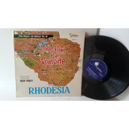 songs from the roadside no 2 rhodesia, 11 VENDA MEN, GEORGE SIBANDA, LOZI MEN, TONGA WOMEN, GALP 1113