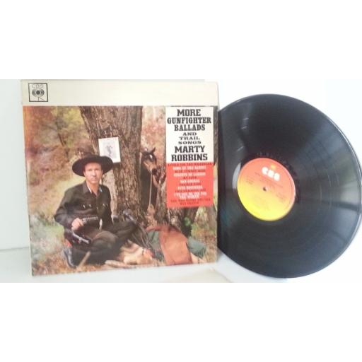 MARTY ROBBINS more gunfighter ballads and trail songs, SBPG 62070