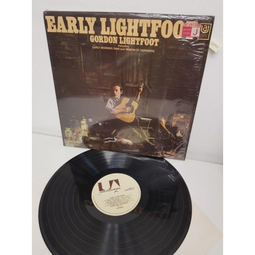 "GORDON LIGHTFOOT, early lightfoot, UAS 29012, 12"" LP"