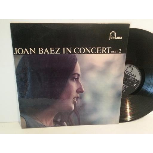Joan Baez IN CONCERT PART 2