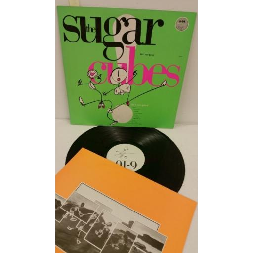 THE SUGARCUBES life's too good, green cover, tplp5
