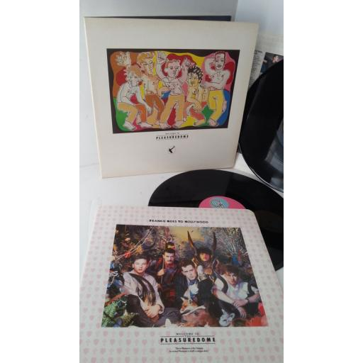FRANKIE GOES TO HOLLYWOOD welcome to the pleasuredome, gatefold, 2 x lp, ZTT IQ1
