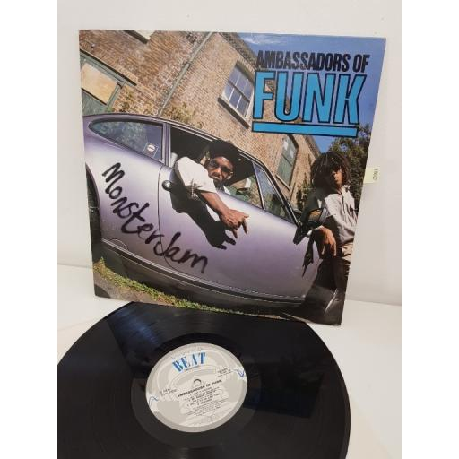 "AMBASSADORS OF FUNK, monster jam, NOMIS 1, 12"" LP"