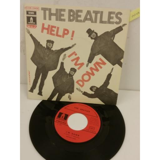 THE BEATLES help! / i'm down, 7 inch single, 2C 006 04456