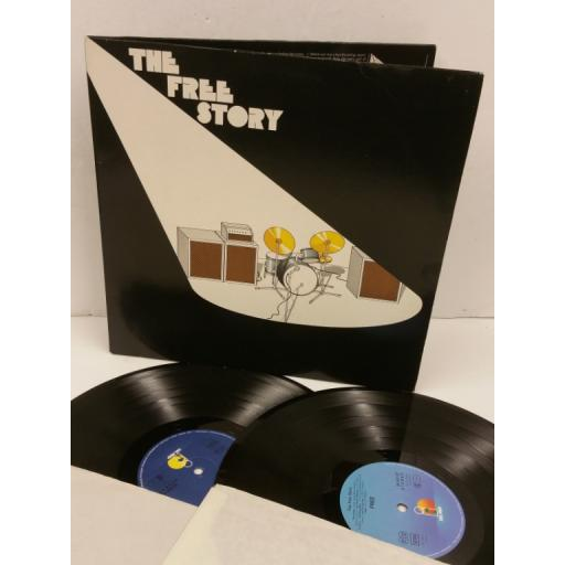 FREE the free story, 2 x lp, gatefold, 25 058 XCT