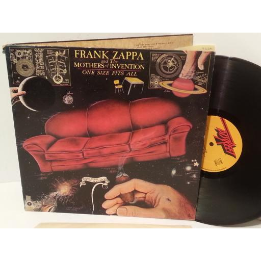 FRANK ZAPPA AND THE MOTHERS OF INVENTION one size fits all, gatefold, K 59207