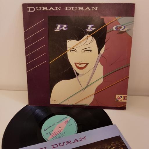 "DURAN DURAN RIO ST12211. 12"" LP MADE IN UK"