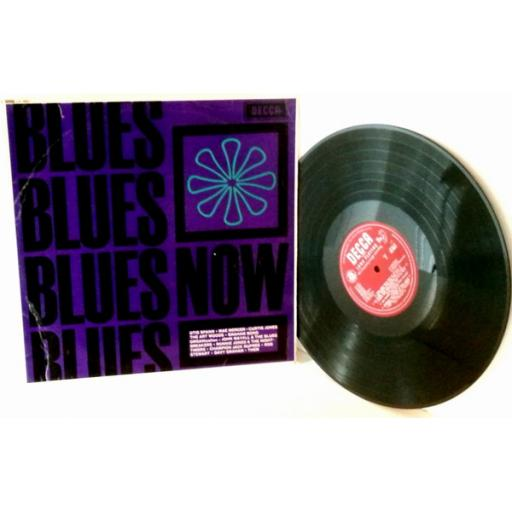 Various Artists BLUE NOW. UK 1964 Press on red Decca label, mono