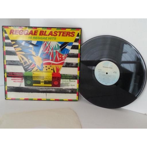 reggae blasters 16 reggae hits, vinyl LP