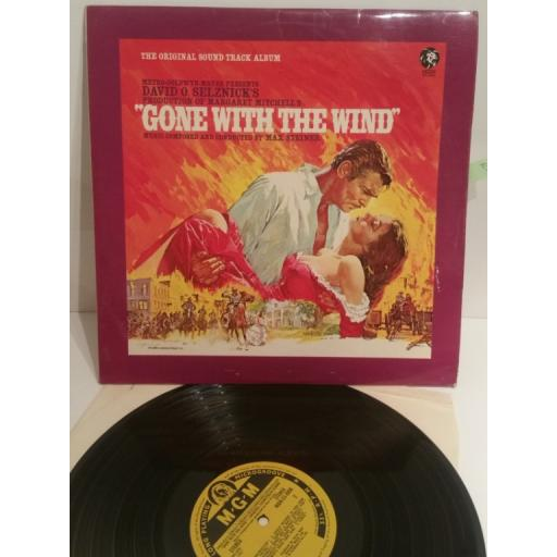 GONE WITH THE WIND David Selznick's The Original Sound Track Album MGM-CS-8056