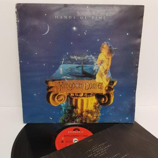 "KINGDOM COME, hands of time, 849 329-1, 12"" LP"