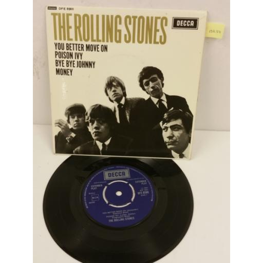 THE ROLLING STONES the rolling stones, 7 inch single, DFE 8560