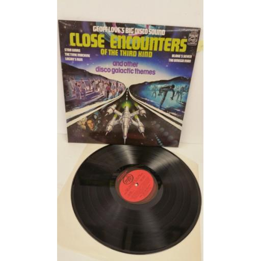 GEOFF LOVE'S BIG DISCO SOUND close encounters of the third kind and other disco galactic themes, MFP 50375