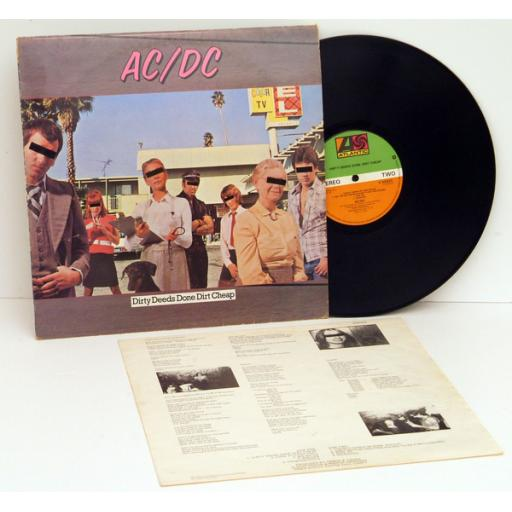 SOLD: AC/DC. Dirty Deeds Done Dirt Cheap