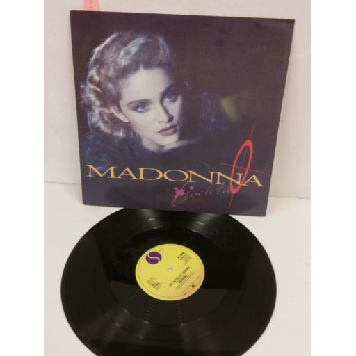MADONNA live to tell, 12 inch single, W8717T
