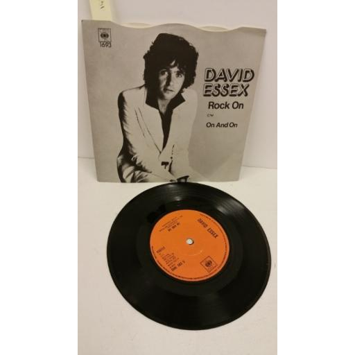 DAVID ESSEX rock on, 7 inch single, CBS 1693